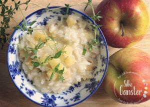 TCM Rezept Apfel Thymian Risotto Traditionelle chinesische Medizin Ernährungsberatung