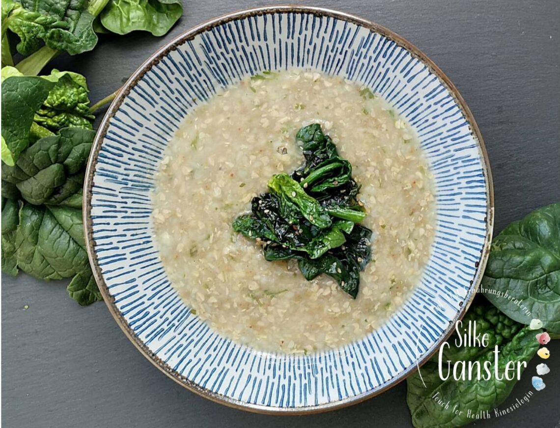 TCM Rezept Buchweizen Congee Traditionelle chinesische Medizin Ernährungsberatung