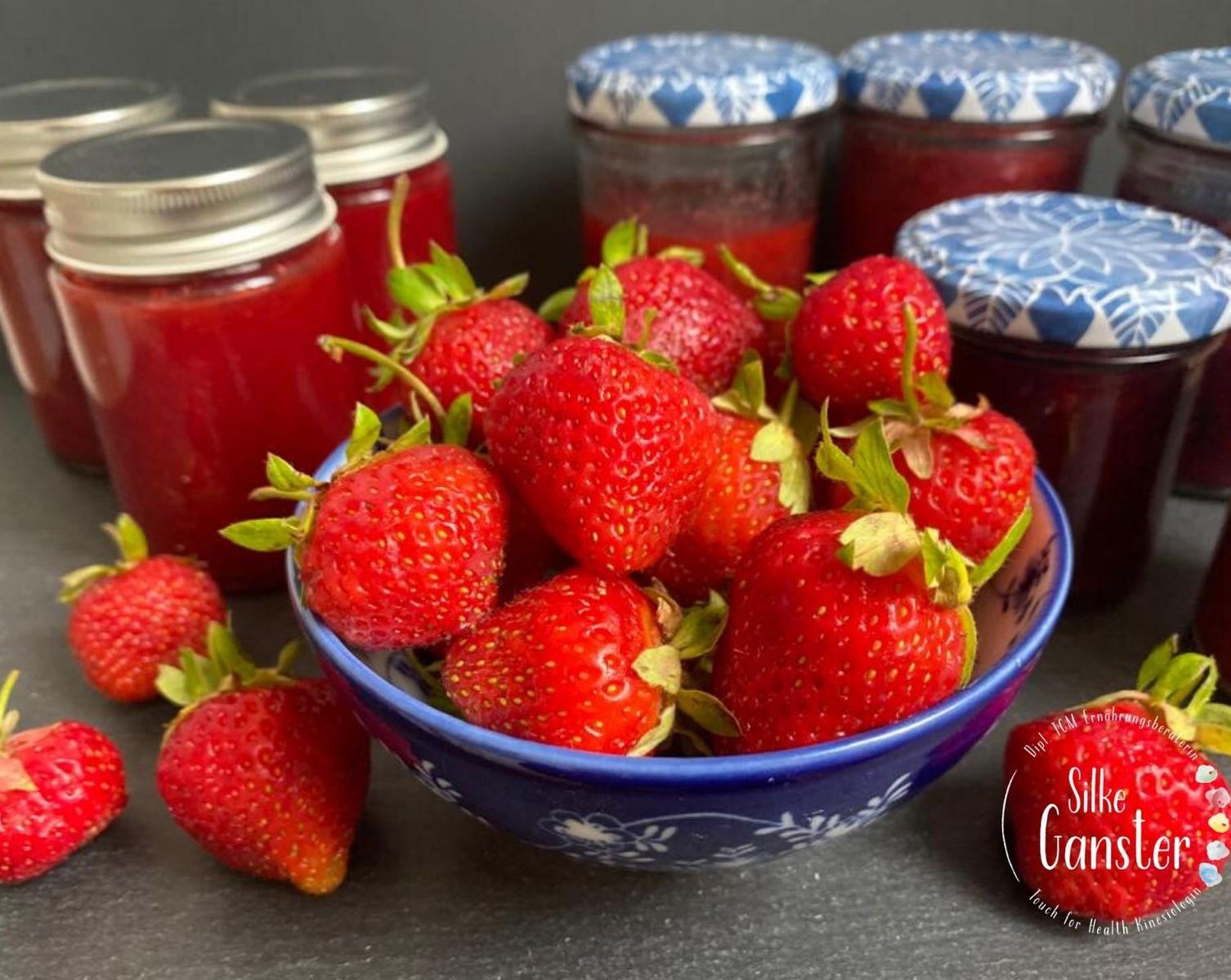 TCM Marmelade Erdbeeren