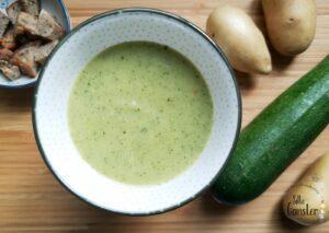 Zucchini Suppe 5 Elemente1020 Wien TCM ERnährungsberatung Ernährungsberatung TCM Rezept