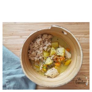 Kürbis Curry Eintopf TCM Ernährungsberatung 5 Elemente Küche Fünf Elemente Rezept Idee