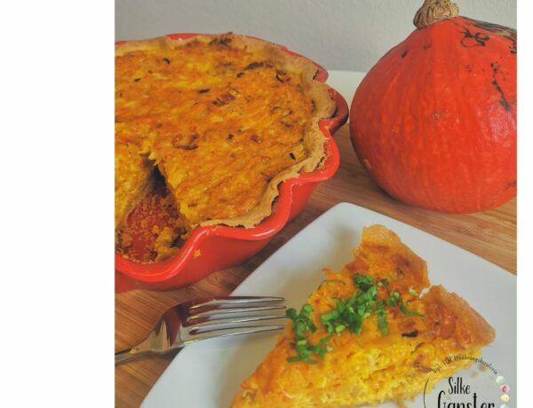 Kürbis Quiche Rezept TCM ERnährungsberatung kochen