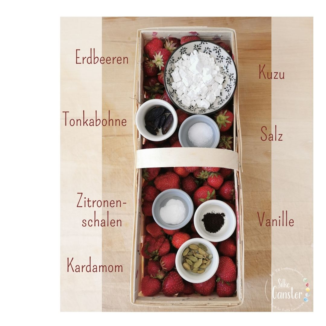Erdbeerfruchtikus Rezept 5 Elemente